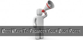 Effective ways to promote your blog