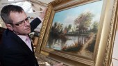 Tim-Conrad-from-Wilfords-Auctions-holds-the-painting-that-could-be-an-early-Cezanne-worth-a-fortune-1