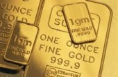 Gold bullion - gold color