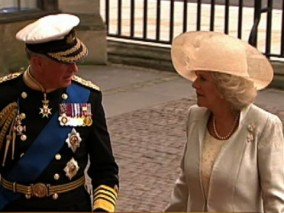 Prince Charles and his wife, Camilla Parker Bowles