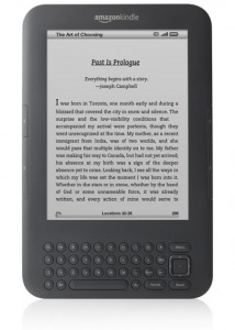 Top Ten Fathers Day Gifts - Kindle 3G