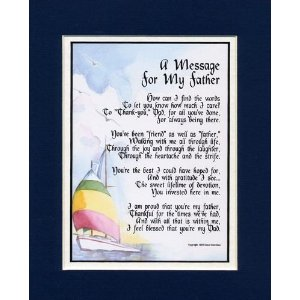 Fathers Day Gift Ideas From Daughter - Personalized Fathers Day Frame
