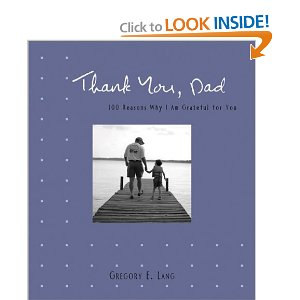 Fathers Day Gift Ideas From Daughter - Thank You Dad Book