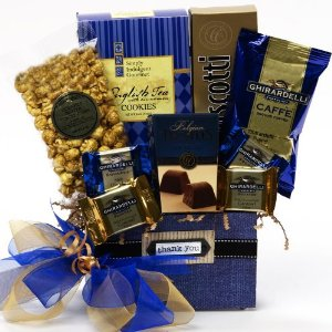 cheap mothers day gift basket - thank you