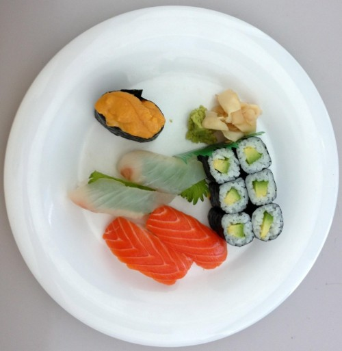 Iphone 5 Sushi pic