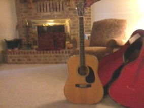 Fender F65 Acoustic Guitar.