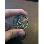 How big is the mockingjay pin