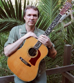 Mark O'Connor and a Mossman Acoustic Guitar