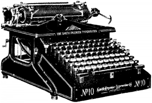 Freelance Writer's Typewriter