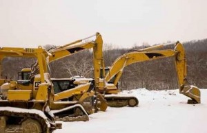 Backhoe Excavator Plant Machinery
