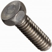 Stainless steel machine screw hex head