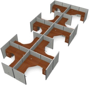 office cubicles the flexible office furniture layout